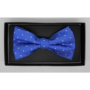 Silk Woven bow tie with or with out logo pre-tied with band