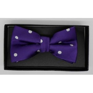 Silk Woven Youth bow tie with or with out logo pre-tied
